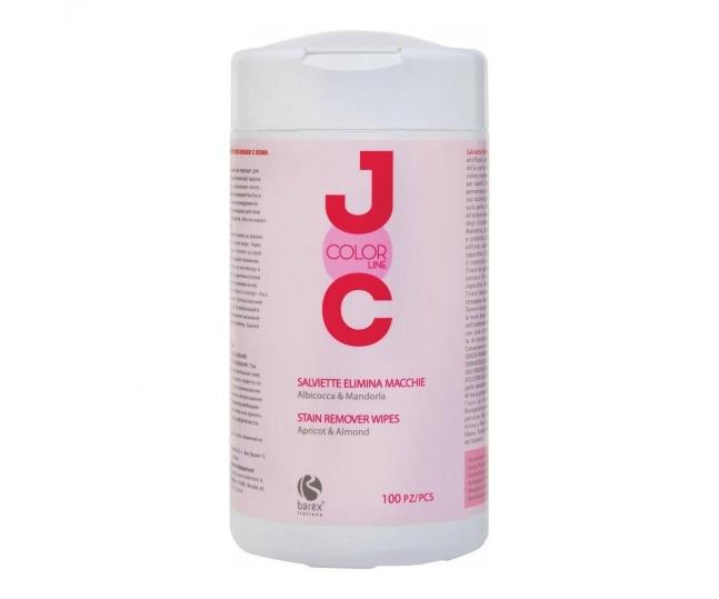Barex Салфетки JOC Color для Снятия Краски с Кожи Коловы, 100 шт/уп