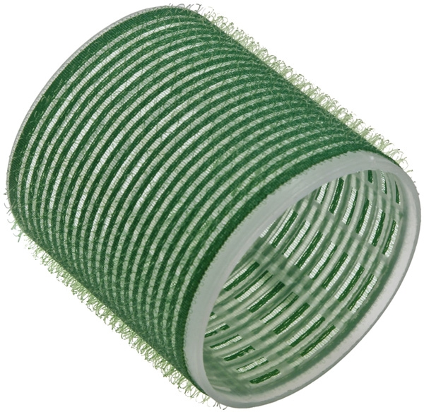 купить Sibel Бигуди на Липучке 61 мм Зеленые, 6 шт по цене 310 рублей