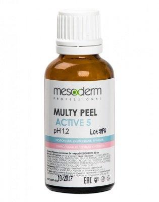 Mesoderm Мульти Пил Актив 5 (АНА Кислоты, 40%), 30 мл