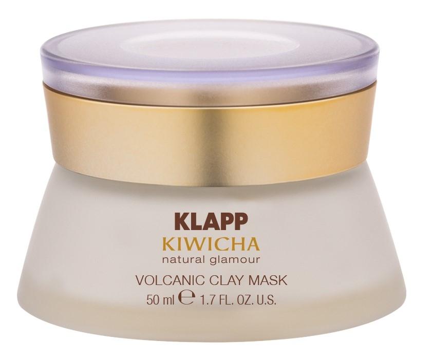 Klapp Маска Volcanic Clay Mask Вулканическая Лава, 50 мл успокаивающая маска лаванда lavander calming mask 50 мл klapp aroma selection