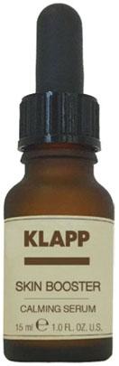 Klapp Сыворотка Calming Serum Успокаивающая, 15 мл успокаивающая маска лаванда lavander calming mask 50 мл klapp aroma selection