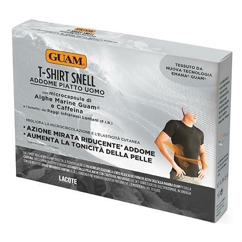 Фото - GUAM Футболка Guam для Мужчин с Моделирующим Эффектом, S/M guam шорты с моделирующим эффектом области живота и талии l xl 46 50 guam аксессуары