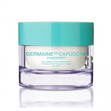 Germaine de Capuccini Гель-Крем для Лица с Гидроматирующим Эффектом PurExpert Oil-Free Hydro-Mat Gel-Cream, 50 мл гель крем для лица alpha homme genwood hydro 50мл