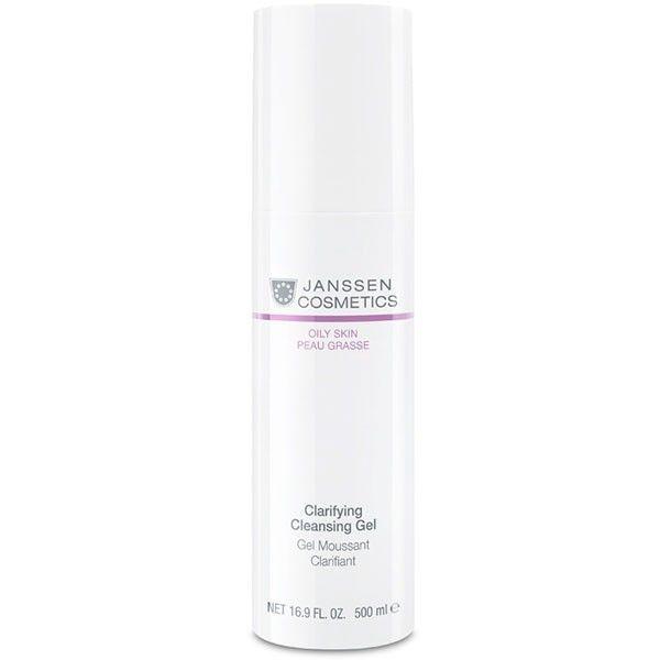 Janssen Гель Clarifying Cleansing Gel Очищающий, 500 мл beauty style гель активный ультраклин контроль ultra clean control cleansing gel 150 мл