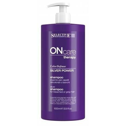Selective Professional Silver Power Shampoo Серебряный Шампунь для Седых Волос, 1000 мл