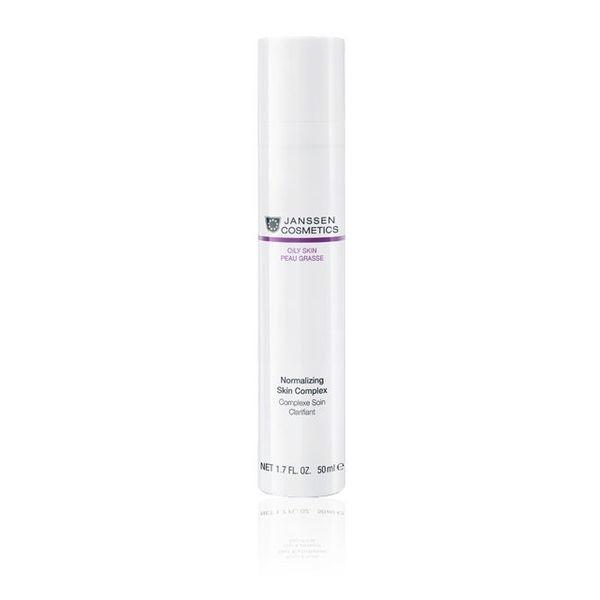 Janssen Концентрат Normalizing Skin Complex Нормализующий для Жирной Кожи, 50 мл janssen ампулы normalizing fluid нормализующий концентрат для ухода за жирной кожей ампула 3 2 мл
