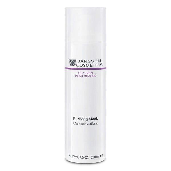 Janssen Маска Purifying Mask Себорегулирующая Очищающая, 200 мл janssen firming neck