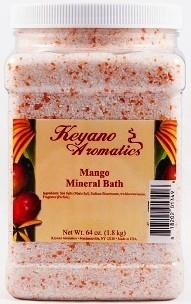 Keyano Aromatics Соль для Ванны Манго, 1900 мл
