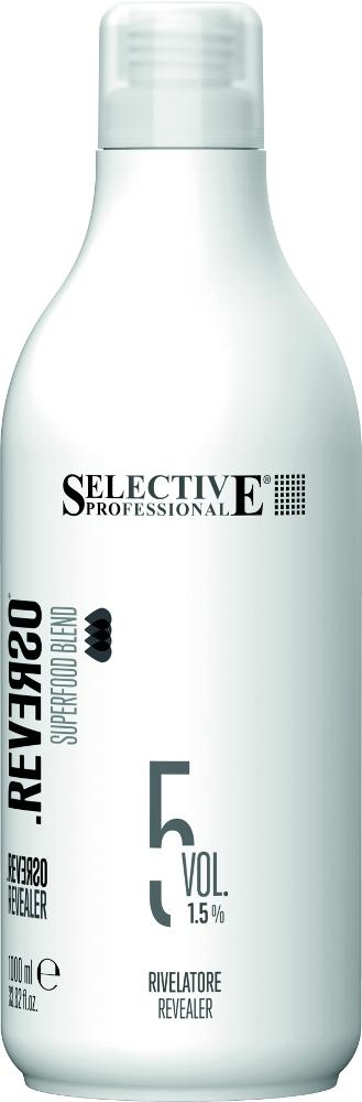 Selective Professional Проявитель для Полуперманентного Окрашивания Reverso Revealer 1.5% , 1000 мл