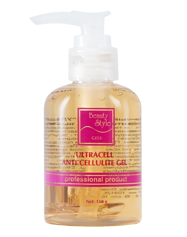 Beauty Style Гель Ultracell Ani-Cellulite Body Gel Активный Ультрацелл, 150 мл beauty style гель активный ультраклин контроль ultra clean control cleansing gel 150 мл