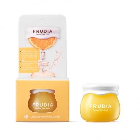 Frudia Крем-Смузи Citrus Brightening Cream для Лица с Цитрусом Придающий Сияние, 10г frudia микропенка citrus brightening micro cleansing foam для умывания с цитрусом 145г