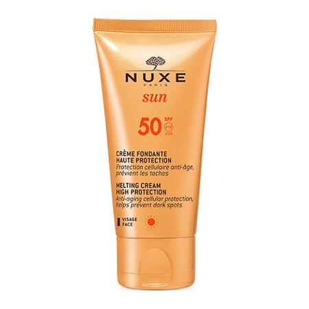 Фото - NUXE Крем Sun SPF 50 Солнцезащитный для Лица, 50 мл age shield для лица солнцезащитный крем без масла spf 110 3 жидкие унции 88 мл