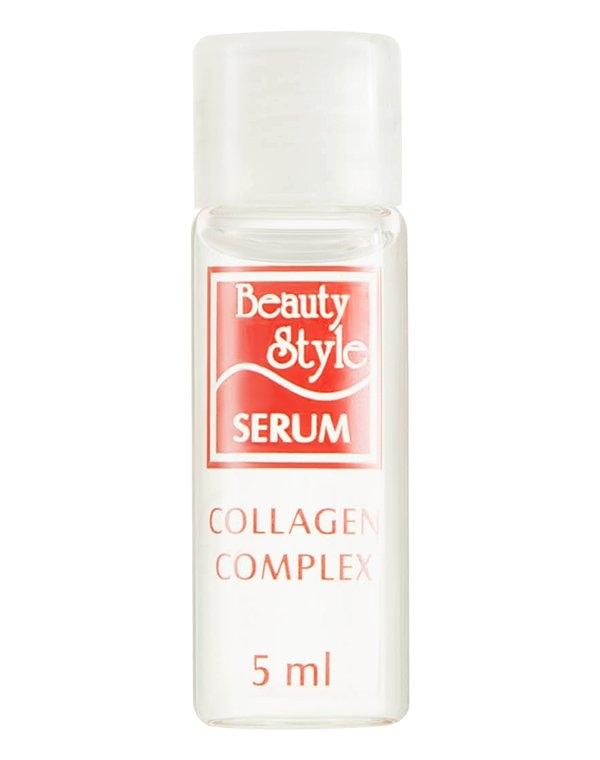 цена на Beauty Style Комплекс Collagen Face Serum Сыворотка Коллагеновый, 5 мл*12 шт