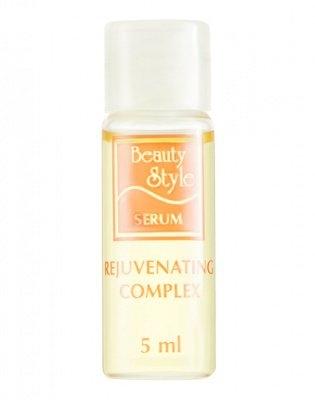 Beauty Style Комплекс (Сыворотка) Омолаживающий Rejuvenating Face Serum, 5 мл*12 шт skingenetic's code сыворотка vitamin c face serum 6 ампул 7 мл