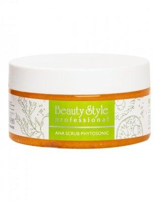 Beauty Style Скраб AHA Scrub Phytosoniс для Тела Антицеллюлитный Сахарный, 200 мл антицеллюлитный скраб фитнес боди