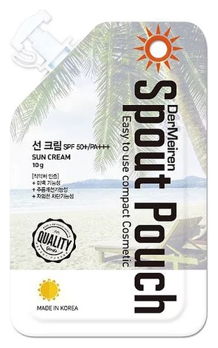 DerMeiren Солнцезащитный Крем SPF50+/PA+++ UV Defense High Protection Sun Cream, 10г