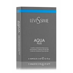 Levissime Комплекс Увлажняющий Aqua Plus, 6*3 мл подводная камера aqua vu micro plus dvr