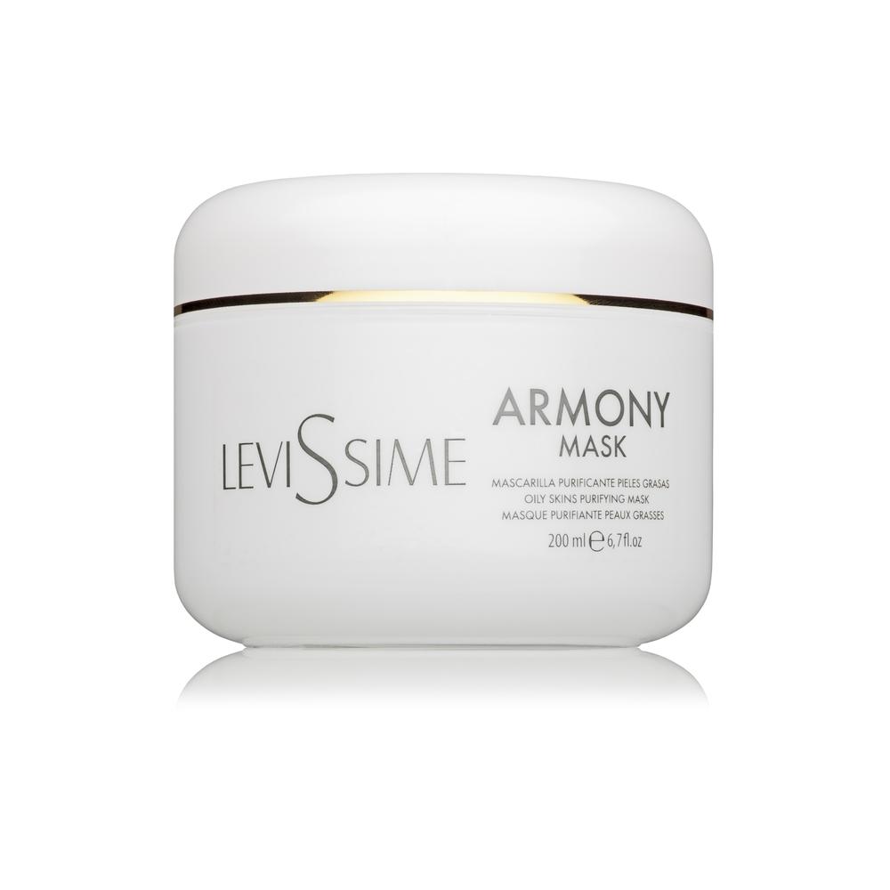Levissime Маска Armony Mask Очищающая для Проблемной Кожи, 200 мл levissime маска для проблемной кожи с солодкой и ромашкой 30 г