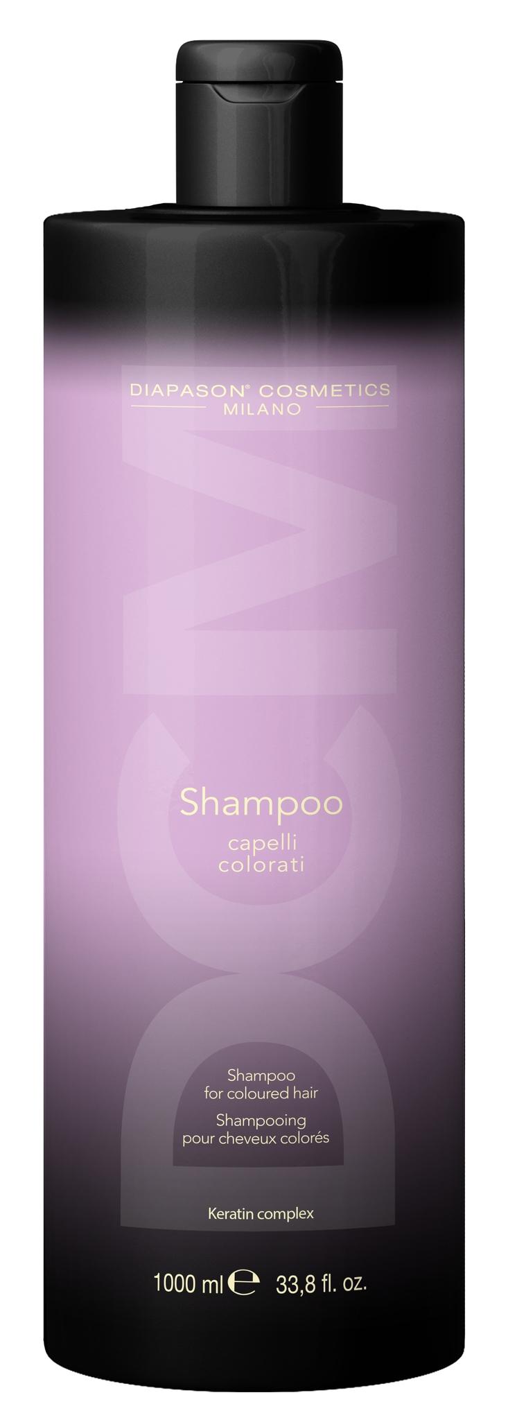 "Lisap Шампунь для Защиты Цвета Окрашенных Волос с Keratin Complex - ""DCM Shampoo for Coloured Hair"", 1000 мл"