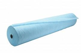 IGRObeauty Простыня СМС (15 г/м2) 80см*200м Голубые в Рулоне с Перфорацией шаг 2 м, 100 шт