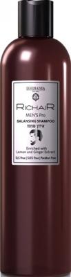 Egomania RICHAIR Шампунь Мужской Балансирующий, 400 мл egomania richair кондиционер для обесцвеченных и осветлённых волос с кератином 400 мл