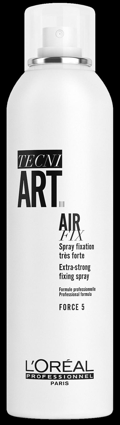 L'Oreal Professionnel Спрей TecniArt Air Fix Эр Фикс Моментальной Фиксации с Защитой от Влаги фикс.5/6, 250 мл спрей сильной фиксации с защитой от влаги и уф лучей l oreal professionnel tecni art fix anti frizz 400 мл