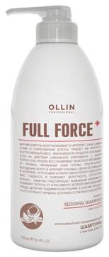 OLLIN PROFESSIONAL FULL FORCE Интенсивный Восстанавливающий Шампунь с Маслом Кокоса, 750 мл