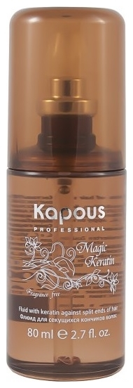 Kapous Magic Keratin Флюид для Секущихся Кончиков Волос с Кератином, 80 мл флюид c ehko keratin farbglanz hair fluid 7 10 мл