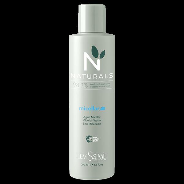 Levissime Вода Naturals Micellar Water Мицеллярная Регенерирующая, 200 мл мицеллярная вода 200 мл skincode essentials