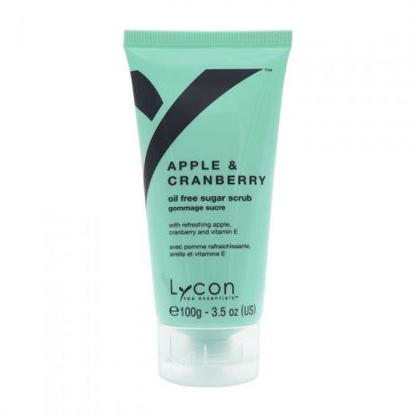 Lycon Скраб Apple & Cranberry Sugar Scrub для Тела Яблоко и Клюква, 100г