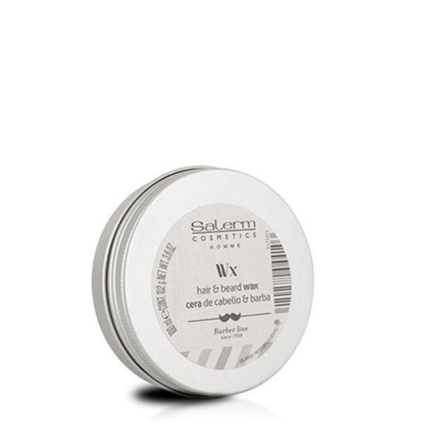 Salerm Cosmetics Воск Hair & Beard Wax для Волос, Бороды и Усов, 100 мл salerm cosmetics тоник hi reair завершающий для защиты волос 100 мл
