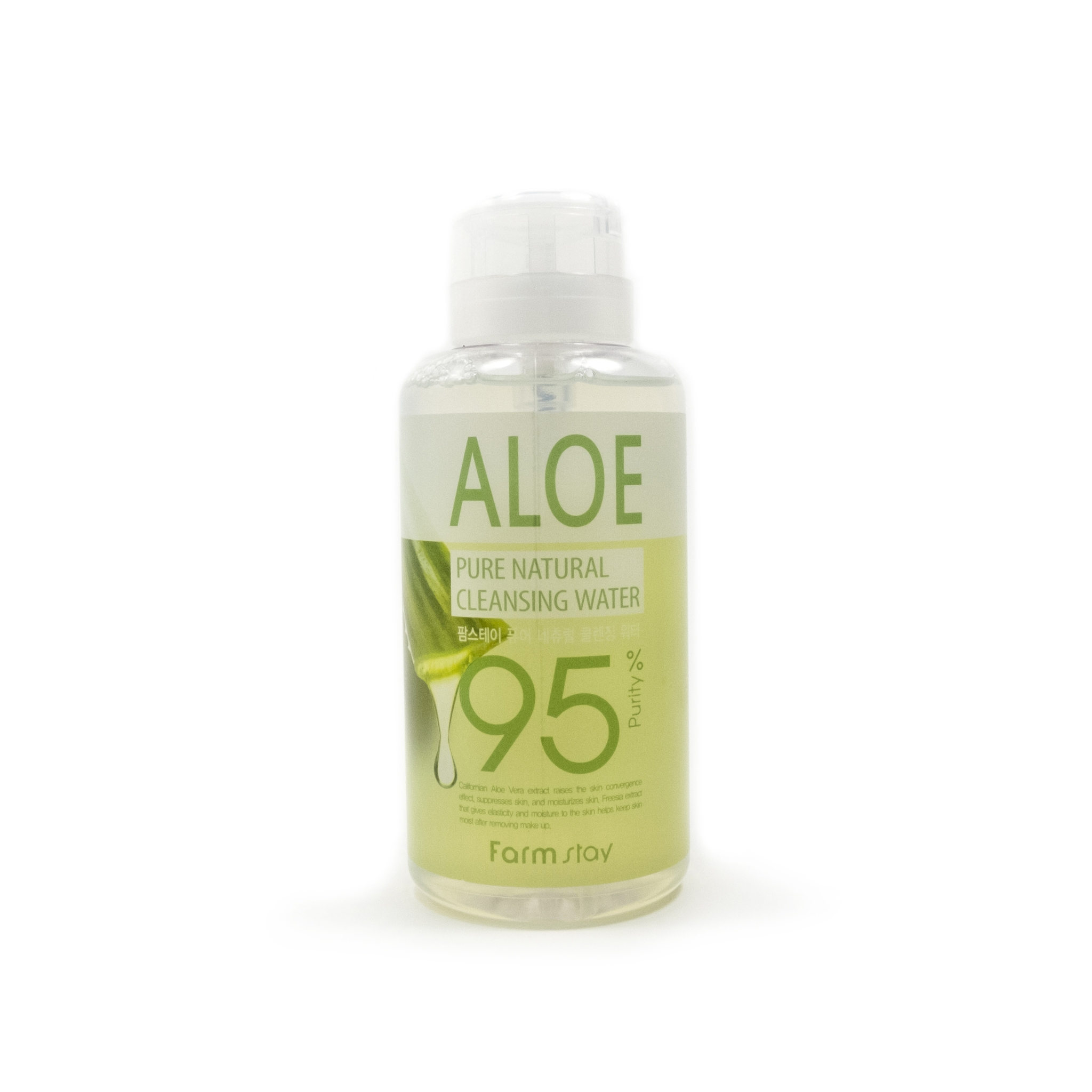 FarmStay Очищающая Вода с Экстрактом Алоэ Pure Natural Cleansing Water Aloe, 500 мл