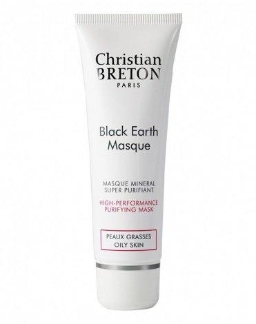 Christian Breton Paris Крем-Маска Black Earth Masque Детокс с Черной Глиной, 50 мл