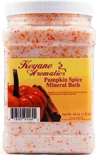Keyano Aromatics Соль для Ванны Пряная Тыква, 1900 мл