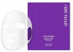 APOT.CARE Лифтинг-Маска для Лица с Коллагеном, 1 уп*4 шт