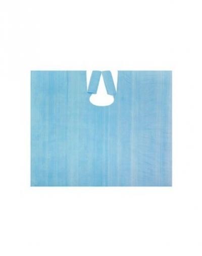 white line фартук полиэтиленовый прозрачный 120х80 см 50 шт IGRObeauty Пеньюар Полиэтиленовый Средний 100х140 см, Синий 20мкр, 50 шт