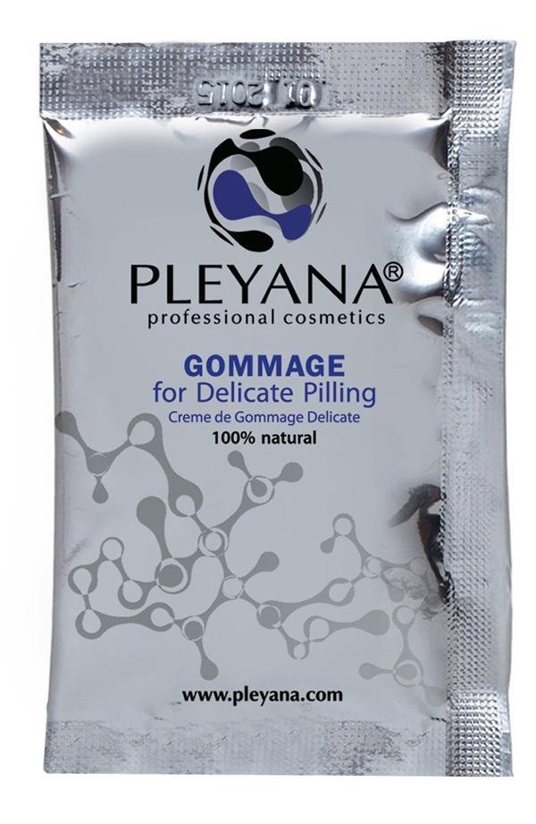 Pleyana Гоммаж для Деликатного Пилинга, 5 мл аппарат для пилинга ступней wellneo легкий шаг