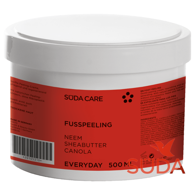 SUDA Пилинг-Крем Fuβ-Peeling, 500 мл