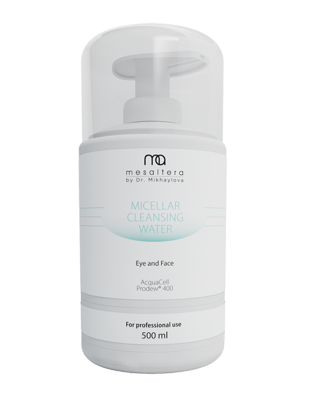 Mesaltera By Dr. Mikhaylova Мицеллярная Вода для Экспресс-Демакияжа Micellar Cleansing Water Eye&Face, 500 мл цены онлайн