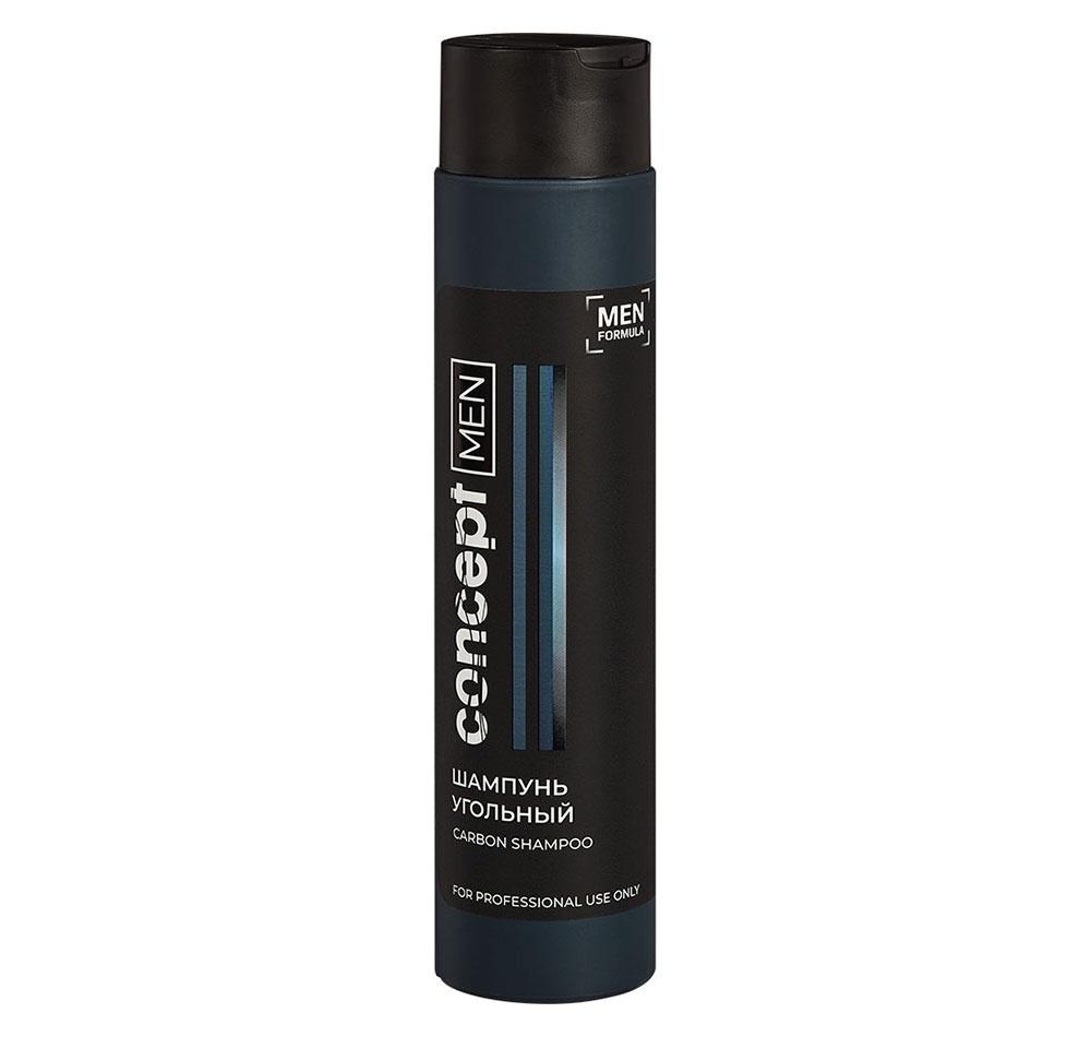 Concept Шампунь Carbon Shampoo Угольный для Волос, 300 мл шампунь угольный