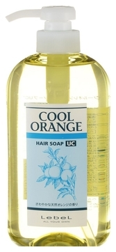 Lebel Cosmetics Cool Orange Uc Hair Soap (Шампунь «Ультра Холодный Апельсин»), 600 мл