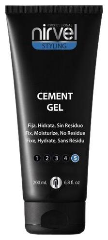 Nirvel Professional Гель Cement Gel Экстрасильной Фиксации