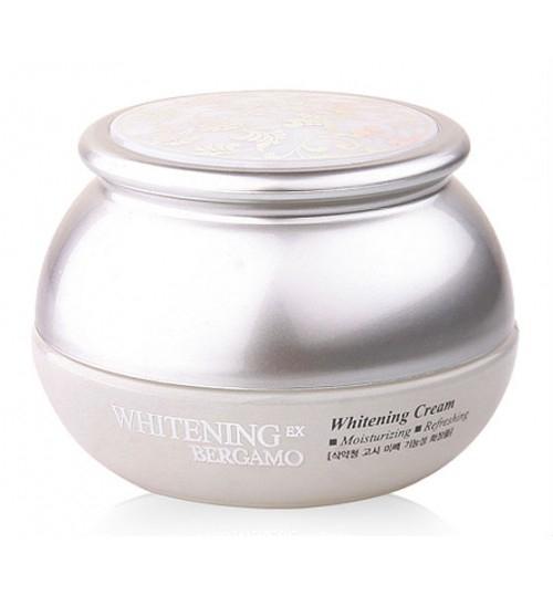 Bergamo Крем Отбеливающий Whitening EX Whitening Cream, 50г грибов в экономические и правовые основы профессиональной деятельности учебное пособие