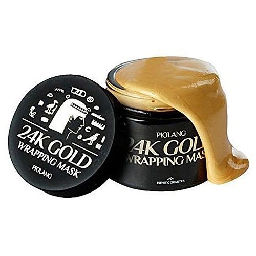 Esthetic House Маска Piolang 24K Gold Wrapping Mask для Лица с 24 Каратным Золотом, 80 мл недорого