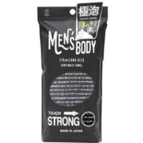 Yokozuna Мочалка-Полотенце Men's Body Strong для Мужчин Ультражесткая, 28Х110 см, 1шт