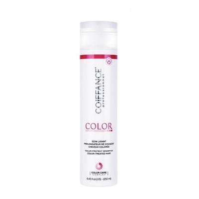 COIFFANCE professionnel Шампунь для Защиты Цвета Окрашенных Волос (без Сульфатов), 250 мл безопасные шампуни для волос без сульфатов