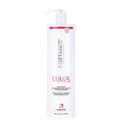 COIFFANCE professionnel Шампунь для Защиты Цвета Окрашенных Волос (без Сульфатов), 1000 мл безопасные шампуни для волос без сульфатов