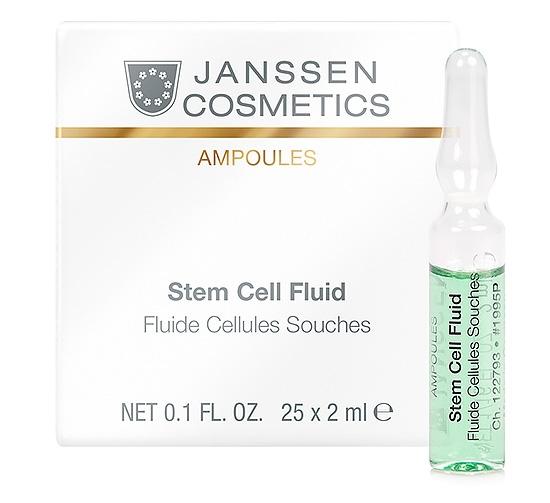 Janssen Сыворотка В Ампулах для Клеточного Обновления Ампула, 25*2 мл janssen лифтинг сыворотка в ампулах с пептидами тимулирующими синтез эластина 7 2 мл
