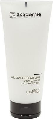 Academie Гель Gel Concentre Minceur для Тела Корректирующий,  200 мл концентрат для похудения concentre minceur 75мл