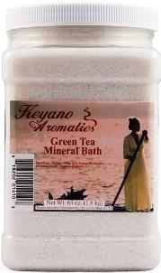 Keyano Aromatics Соль для Ванны Зеленый Чай, 1900 мл